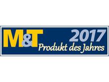 Logo M&T Produkt des Jahres 2017