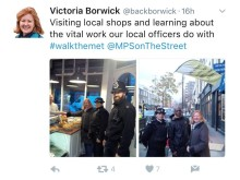 Tweet by Victoria Borwick MP