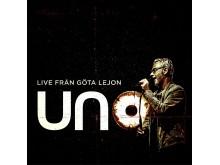 """Uno Svenningsson """"Live från Göta Lejon"""" omslag"""