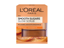 L'Oréal Paris Smooth Sugars Glow Scrub heleyttävä sokerikuorinta