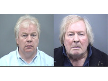 Jamie Colwell (L) and Brian Colwell (R) who have been extradited from Spain