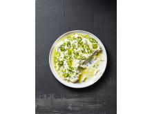 Gurkyoghurt med grön chili och tabasco