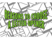 Reasons to choose a letter opener