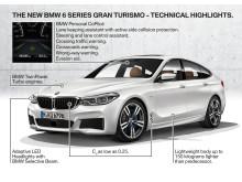 BMW 6-serie Gran Turismo - tekniske detaljer