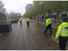 Specials on patrol in Newham