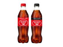 Minkä seuran logon suomalaiset äänestävät Coca-Cola-pullon etikettiin? Maajoukkuepelaaja Paulus Arajuuri kannattaa kasvattiseuraansa Halkian Alkua etikettiin.