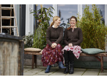 Malin & Erika på Blomsterfrämjandet