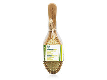 Oval Bamboo Pin Hairbrush