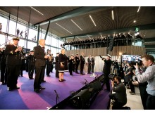 Bergen lufthavn Flesland åpnet