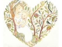 Mamma och barn av Kristina Digman