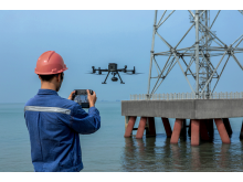 DJI M300 RTK inspecting platform
