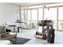 Humle & Hantverk | Snickarbänk i vardagsrummet