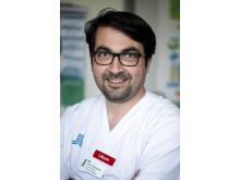 Theodoros Samourkasidis, specialistläkare på Hudkliniken/SESAM, Danderyds sjukhus