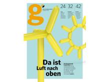 "Cover Erstausgabe ""g""-Magazin"