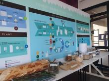 Bothnia Bioindustries Cluster demonstrerade hela den skogliga värdekedjan i en utställning.