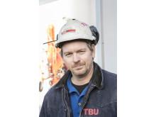 – I utlandet har murbransjen kommet mye lenger i å effektivisere og modernisere muringen. Her hjemme henger vi dessverre etter, sier Pete Ternsten i TBU AS.