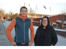 Thomas Zobel och Åsa Ericson