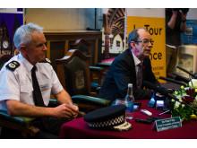 Sir Peter Fahy and Cllr Colin Lambert
