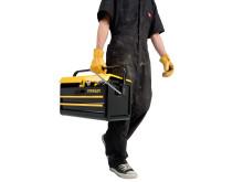 STANLEY Cajas de herramientas metálicas (3)