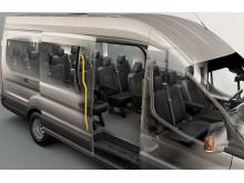 Ford Transit 18-paikkainen linja-auto