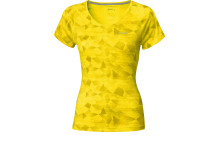 ASICS W'S GRAPHIC SCOOP TOP_Geometric Blazing Yellow_SS14_110573_2011