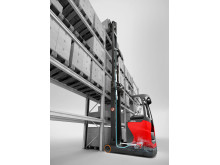 Linde Material Handling presenterar nytt intelligent förarassistans-system för skjutstativtruckar