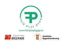 Fair Play Bygg - ett samarbete mellan Byggnads Stockholm Gotland och Stockholms Byggmästareförening