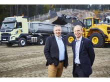 Swecon och Volvo Truck Center satsar i Förbifart Stockholm - Christer Söderberg och Hans Börjesson