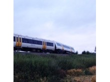 Train derailment at Chilham