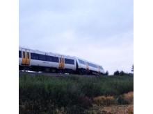 Train derailment at Chilham