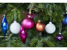 Julgran färgkoordinerad_detalj 2