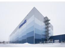 Producenten af sundhedsplejeprodukter Attends reagerer på stigende efterspørgsel ved at optimere sin lagerkapacitet med et ny højlager fra SSI Schäfer