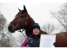 Månadens hästägare december 2016 - Cajsa Friberg