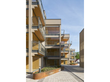 Skålsnäckan är en av Arkitektbolagets många träbyggnadsprojekt.