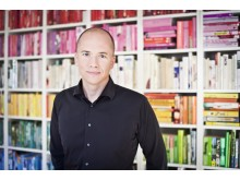 Daniel Åberg, författare till Smittad. Foto: Sara Arnald