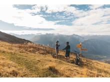 Wallis: Pause auf dem Torrenttrail bei Leukerbad