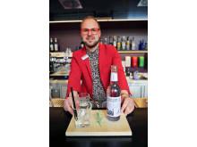 An der Bar werden u.a. mit lokalen Gins trendige Longdrinks kreiert