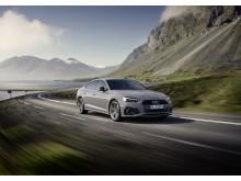 Audi A5 Sportback (kvantumgrå)