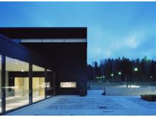 Ceremonibyggnad Stillheten, Södra kyrkogården i Täby