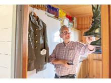 Förberedelserna inför Riksettanrallyt omfattar även en outfit som är identisk med den Kjell bar som vägsamarit för 60 år sedan.