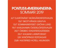 Pontus & Amerikanerna på turné