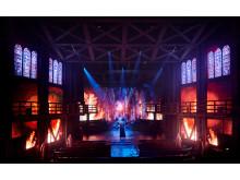 Disneys musikal Ringaren i Notre Dame, Köpenhamnsuppsätttningen. Foto: Søren Malmose