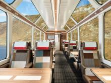 Neues Design der 1. und 2. Klasse im GlacierExpress