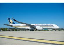 A350-900 Ultra-Long-Range. Singapore Airlines modtager verdens første A350-900-ULR.