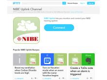 NIBE och IFTTT