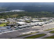 Översiktsbild Göteborg Landvetter Airport