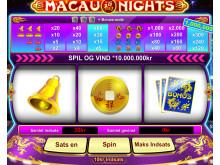 Macau Nights - Spilleautomat hos Mr Spil
