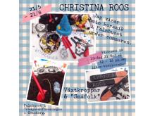 """Christina Roos, Växtkroppar & """"småfolk"""""""
