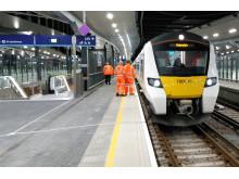 Class 700 on test at London Bridge2