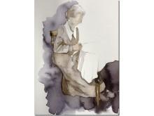 Akvarell av Marina Sundberg